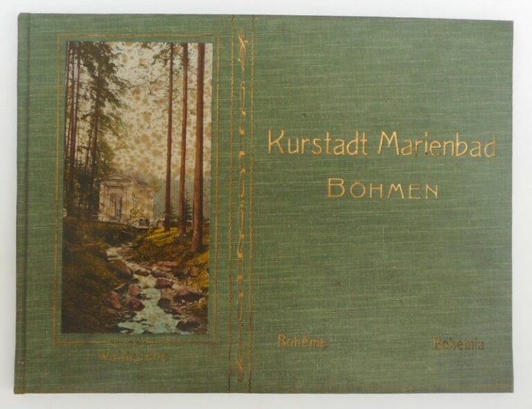 | Album der Kurstadt Marienbad. Mit 12 Bildern