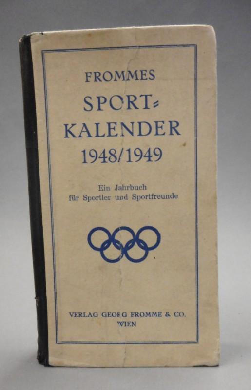 | Frommes Sportkalender 1948 / 1949.