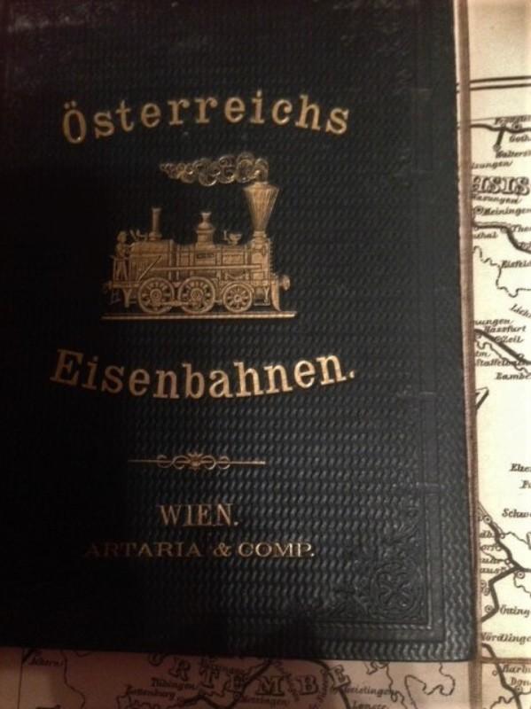 Österreichs Eisenbahnen Karte der Eisenbahnen Österreichs mit genauer Unterscheidung der Gesellschaften