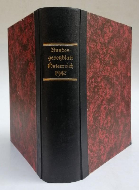 Bundesgesetzblatt| Bundesgesetzblatt für die Republik Österreich. Jahrgang 1947. Stück 1 bis 59