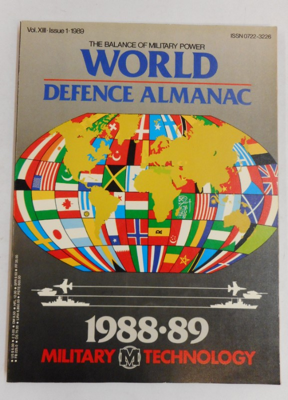 | The World Defence Almanach 1988-89. Military Technology Magazine. Vol. XIII. Issue 1. 1989