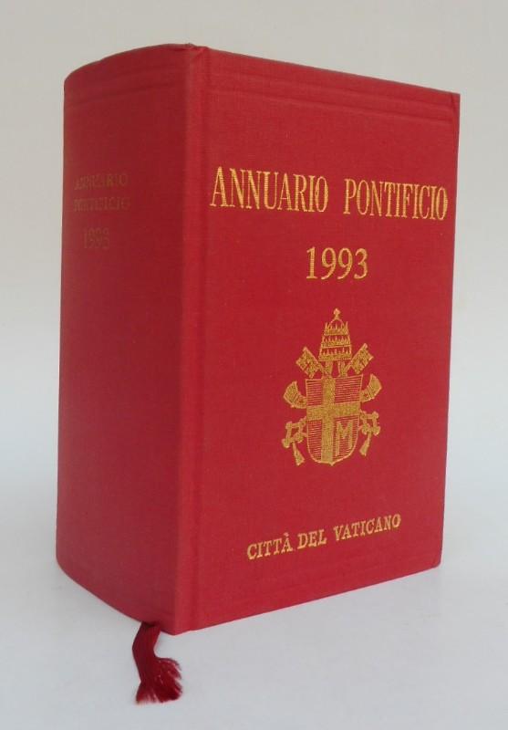 Annuario 1963 Annuario Pontificio per l'anno 1993. Mit Front