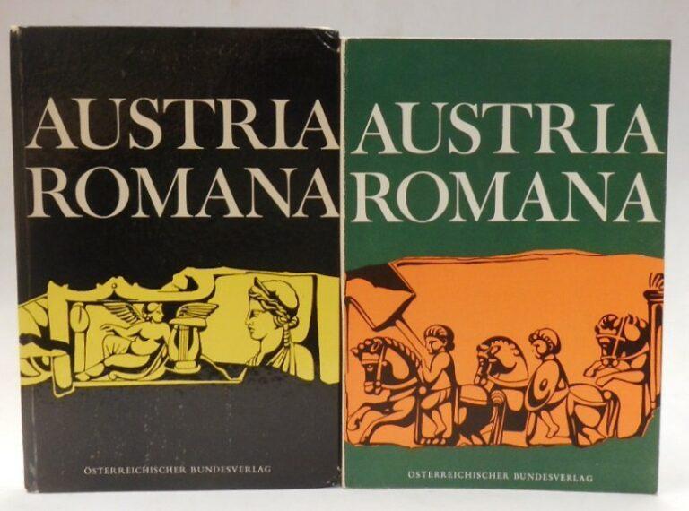 Gassner / Malcher / Reidinger Austria Romana. Ein Lesebuch für den lateinischen Anfangsunterricht (1. und 2. Lernjahr). I. Text. II. Grammatik und Übungen. 2 Bde.