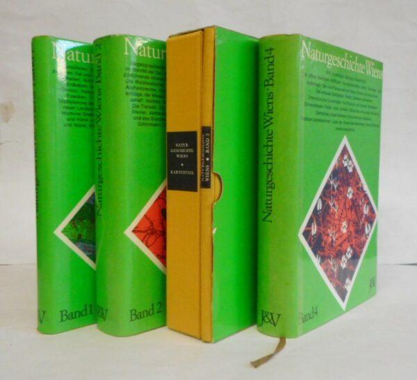 Arbeitsgemeinschaft am Institut für Wissenschaft und Kunst (Hg.) Naturgeschichte Wiens. 4 Bände komplett. Bd. 1: Lage