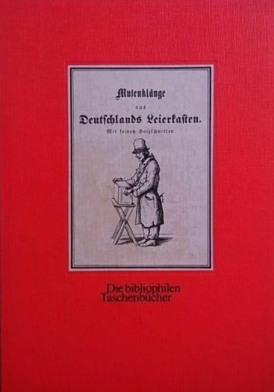   Musenklänge aus Deutschlands Leierkasten. Mit feinen Holzschnitten