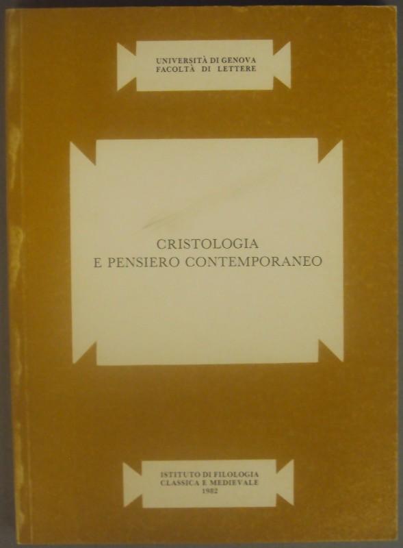 | Cristologia e Pensiero Contemporaneo.