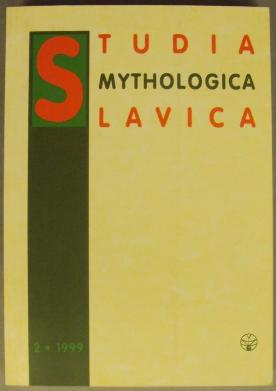| Studia mythologica Slavica II.