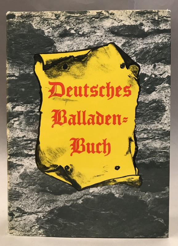   Deutsches Balladenbuch. Mit Holzschnitten nach Zeichnungenvon Adolf Ehrhardt