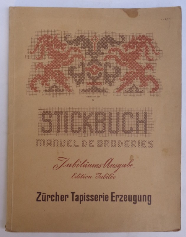 | Stickbuch. Jubiläums-Ausgabe / Manuel de Broderies. Edition Jubilée. Mit zahlr. Mustern