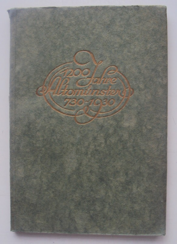 | Festschrift zum zwölfhundert-jährigen Sankt Alto-Jubiläum