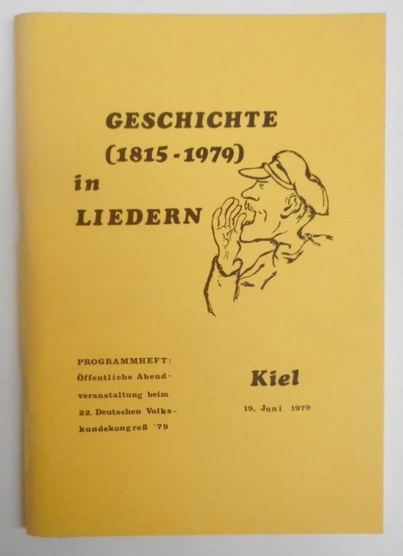 | Geschichte (1815-1879) in Liedern