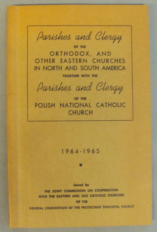 | Parishes and Clergy of the Orthodox