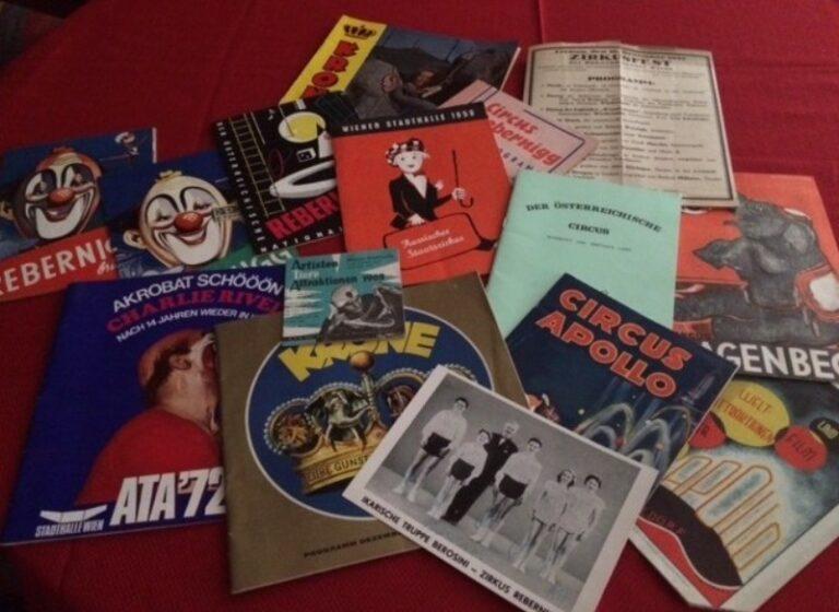| 14 Zirkus-Programme.