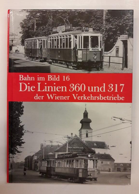 | Die Linien 360 und 317 der Wiener Verkehrsbetriebe.