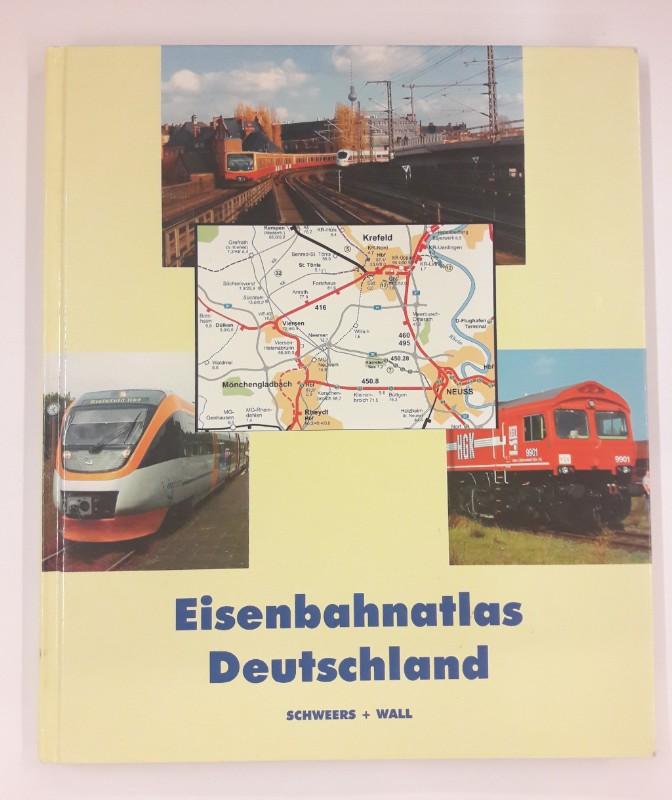 | Eisenbahnatlas Deutschland. Mit zahlr. Kartenskizzen.