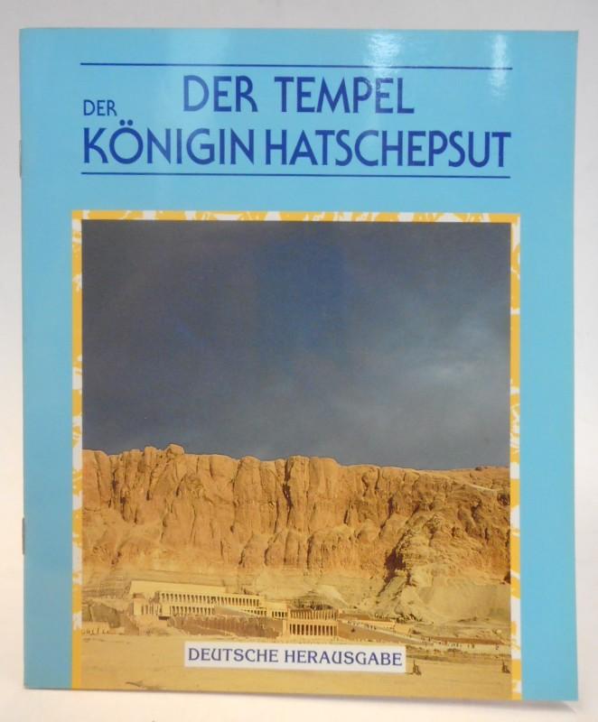 | Der Tempel der Königin Hatschepsut.