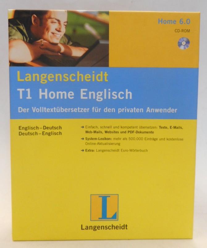 | Langenscheidt T1 Home Englisch. Der Volltextübersetzer für den privaten Anwender.