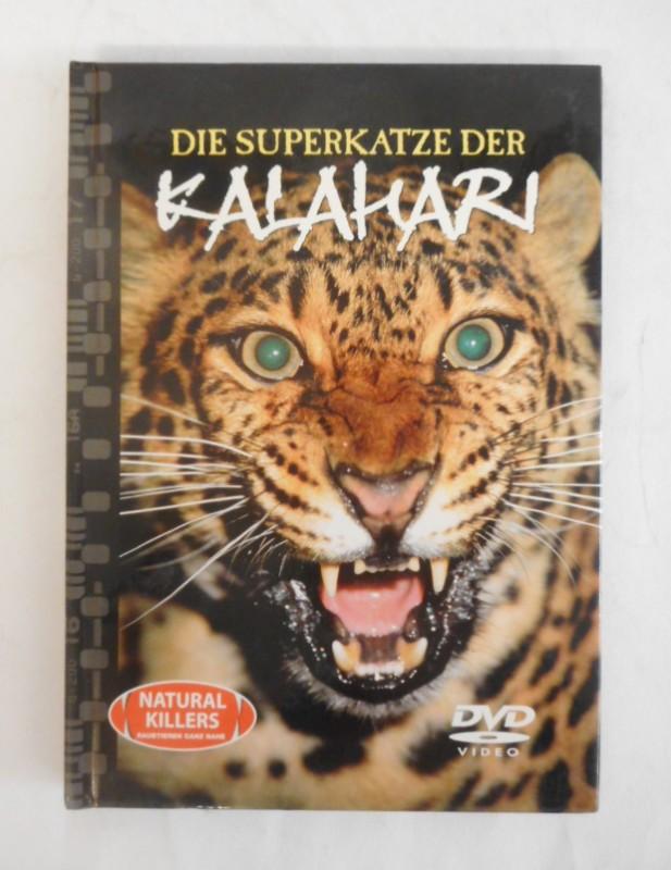| Die Superkatze der Kalahari. Der Leopard. Buch mit DVD.