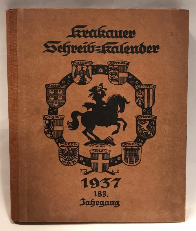 | Krakauer Schreib-Kalender 1937. 183 Jg.