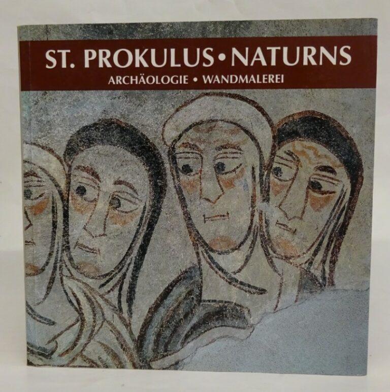 St. Prokulus - Naturns. Archäologie - Wandmalerei.
